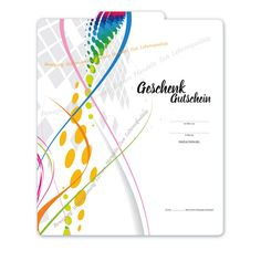Multicolor-Gutschein MA241 für Physiotherapie Massage, Notebook, Map, Physical Therapy, Natural Medicine, Things To Do, Projects, Cards, Gifts
