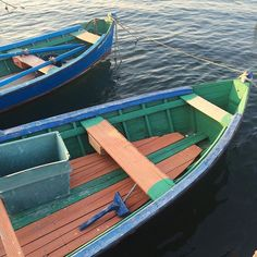 More striking colour combos for humble rowing boats #colour #color #sardinia…