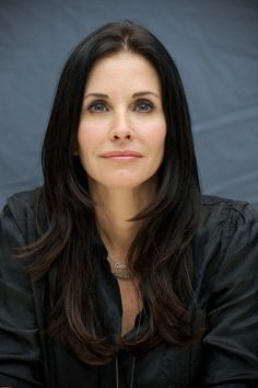 Courtney cox hair layers