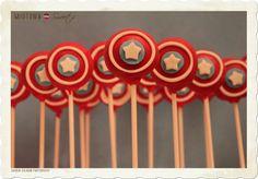 superhero cakepops - Google Search