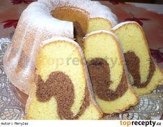 Sweet Recipes, Cake Recipes, Snack Recipes, Dessert Recipes, Cooking Recipes, Snacks, Czech Recipes, Ethnic Recipes, Bunt Cakes