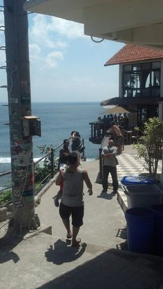 Off we go... - Bluepoint Beach Uluwatu, Bali.