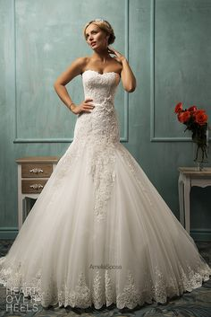 Amelia Sposa 2014 Wedding Dresses  Heart Over Heels....Everything about this is amazing.