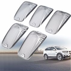 [US$12.46] 5pcs Smoke Top Lamp Lens Roof Running Light Cab Marker Cover For Ford GMC  #5pcs #cover #ford #lamp #lens #light #marker #roof #running #smoke