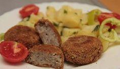 I enjoy health food, bu. Turkey Zucchini Meatballs, Bean Chips, A Food, Food And Drink, Grilling Recipes, Quinoa, Food Processor Recipes, Veggies, Vegetarian