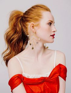 Madelaine Petsch photographed by Tiffany Nicholson for Glamour Magazine, March 2018
