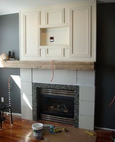 Fireplace Build and Makeover DIY | Hometalk