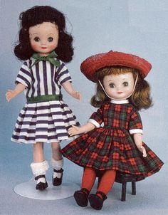 Betsy Schoolgirl, & Betsy Holiday