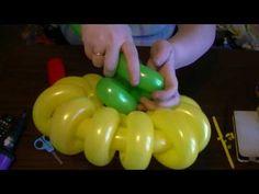 Горшочек для цветка из шаров / Flower pot balloons (Subtitles) - YouTube