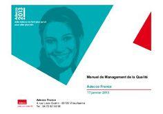 Manuel de Management de la Qualité Adecco France