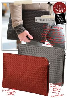 Bottega Veneta Intrecciato VN Document Case Man Clutch 06c6bbca4ac5b