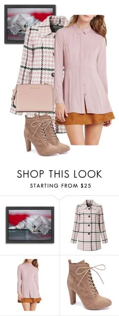 """""""coat"""" by masayuki4499 ❤ liked on Polyvore featuring Americanflat, Miss Selfridge, BCBGeneration, Wild Diva and Michael Kors"""