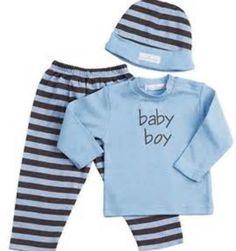 Striped boy pjs