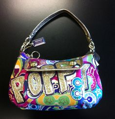 Coach small Poppy purse