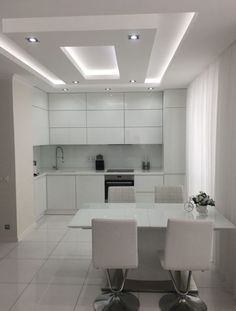 Really like this kitchen ceiling Kitchen Ceiling Design, Simple False Ceiling Design, Plaster Ceiling Design, Gypsum Ceiling Design, Interior Ceiling Design, House Ceiling Design, Ceiling Design Living Room, Bedroom False Ceiling Design, Ceiling Light Design