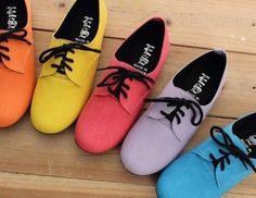 Love these colorful shoes