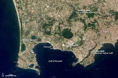 So why build part of Naples inside of a supervolcano?  Campi Flegrei