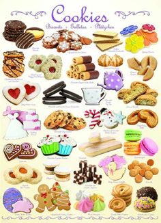 Eurographics - Cookies Jigsaw Puzzle - 1000 pc