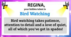 Find out your hidden talent!