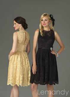Alluring A-line Lace Overlay Knee Length Wedding Guest / Cocktail / Bridesmaid Dresses by foreverbridals 7867 Tea Length Bridesmaid Dresses, Cocktail Bridesmaid Dresses, Wedding Party Dresses, Cocktail Dresses, Winter Bridesmaids, Lace Bridesmaids, Brisbane, Shops, Couture