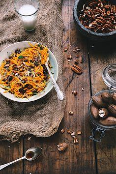 Saveurs Végétales: Salades courges noix de pécan