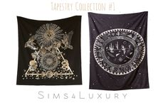 Tapestry Collection #1 | Sims4Luxury.