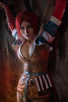 Triss Merigold torture Cosplay from Witcher by elenasamko on DeviantArt Video Game Cosplay, Epic Cosplay, Cute Cosplay, Cosplay Girls, Amazing Cosplay, Triss Cosplay, Succubus Cosplay, Witcher Art, The Witcher