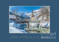 #Winter #Christmas #GreetingCard #JHughesDesigns