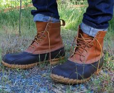 You can not go wrong with a classic. L.L Bean boots since 1912
