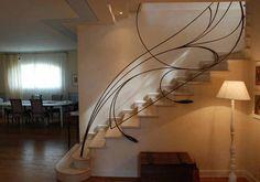 Rampe D 39 Escalier En Fer Forg Rf36 Fer Forg Pinterest D