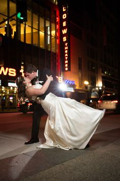 Schedule time for night time shoots.  Have  your photographer set up everything BEFORE you go outside so that you only have to spend a minimal amount of time away from your guests. Bill and Stephanie's Black-Tie wedding at the Boston Common Ritz-Carlton by Vail Fucci