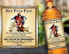 Captain Morgan gifts 60th birthday gift for men, Captain Morgan label Custom liquor labels 21st birthday 21st birthday invitations