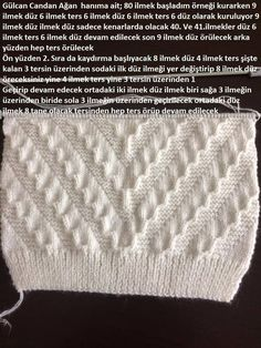 Help translate from Turkish - post by irisch (Ira) in the Knitting community in the Knitting category for women knitting. Knitting Paterns, Knitting Charts, Lace Knitting, Knitting Designs, Knit Patterns, Stitch Patterns, Gents Sweater, Baby Boy Sweater, Cross Stitch Tree