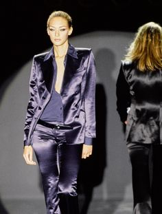 Chrystèle Saint Louis Augustin at Gucci by Tom Ford Fall   Winter 1995   inspiration  . Fashion ... 8c05d2a7ba7e