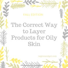 Awesome beauty product samples that have worked perfectly for my dry weather skin routine.