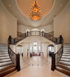 grand entry staircase - LOVE