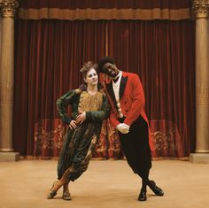 The film, directed by Roschdy Zem, stars Omar Sy in the title role as a former slave turned clown, and James Thierrée as the other half of a clown duo in Paris.