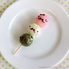 Mustache dango family