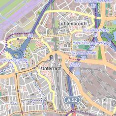 GPS-Info: Rundwanderweg in den Grafenberger Wald (Düsseldorf) | GPS Wanderatlas