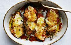 A Healthier Take on Eggplant Parmesan - Bon Appétit