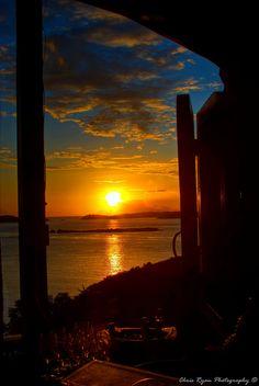 Sunset at Asolare, Cruz Bay, Saint John Island_ U. Beautiful Sky, Beautiful Places, Beautiful Pictures, Places To Travel, Places To Go, Johns Island, St Thomas, Nature Pictures, Vacation Spots