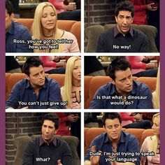 If you're a male dinosaur looking to ask out a female dinosaur then we have some advice for you on Sexetc.org  #relationships #dating #firstmoves #ross #joey #phoebe #friends #coffeeshop #coffee #communication #bae #love #romance #nervous #askingout #goingout #makingamove #dinosaurs #dinosaur #jurassicpark