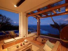 charmingly rustic ocean home