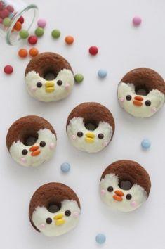 Gluten-free Penguin Donuts