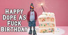 "Lisa Nguyen on Instagram: ""#gavinmcgregor of #frothers #gayhurst #dopeasfuck #happybirthday #greetingcards #litcunt #lunatics #netflix #litasfuck #litaf…"" Happy Birthday, Birthday Cake, Instagram Accounts, Netflix, Lisa, Greeting Cards, Desserts, Food, Happy Brithday"