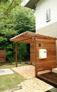 House Yard, House Rooms, Grill Gazebo, Pergola, Bike Shelter, Bicycle Storage, Bike Shed, Surf Shack, Outdoor Cooking