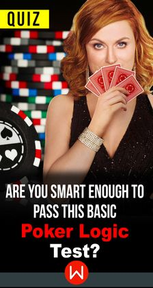 A quiz on the various different hands in poker and what each of them mean, relative to the other.