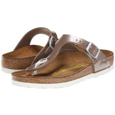 1adc7a4589e9a Birkenstock Gizeh Sandals ( 95) ❤ liked on Polyvore Sole
