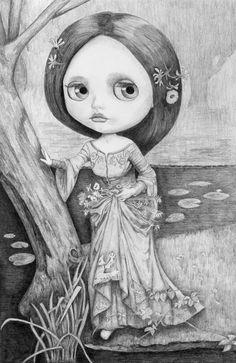 Blythe Ophelia - by Thomas DePorter (Friend2Blythe)