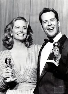 Cybill Shepherd and Bruce Willis  Id love to see them together again.